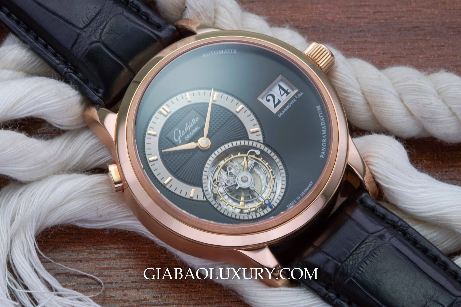 Đồng Hồ Glashutte Original PanoMatic Tourbillon