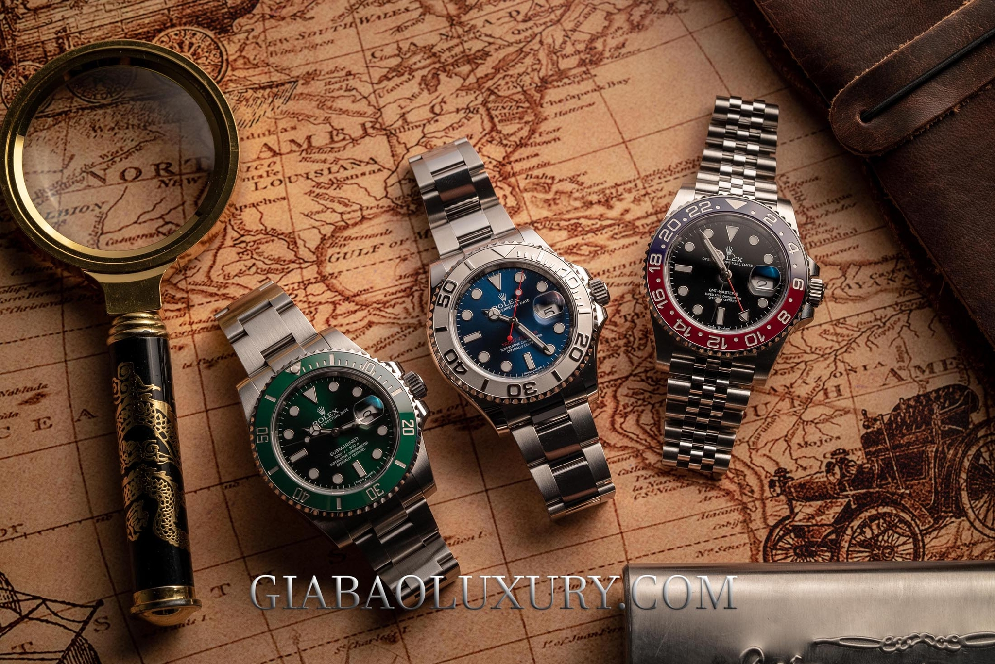 Đồng Hồ Rolex Yacht-Master 116622 Mặt Số Xanh