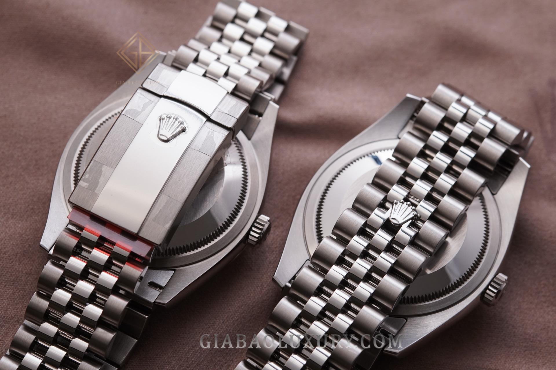 So sánh 2 mẫu đồng hồ Rolex Datejust 36 116234 và 126234