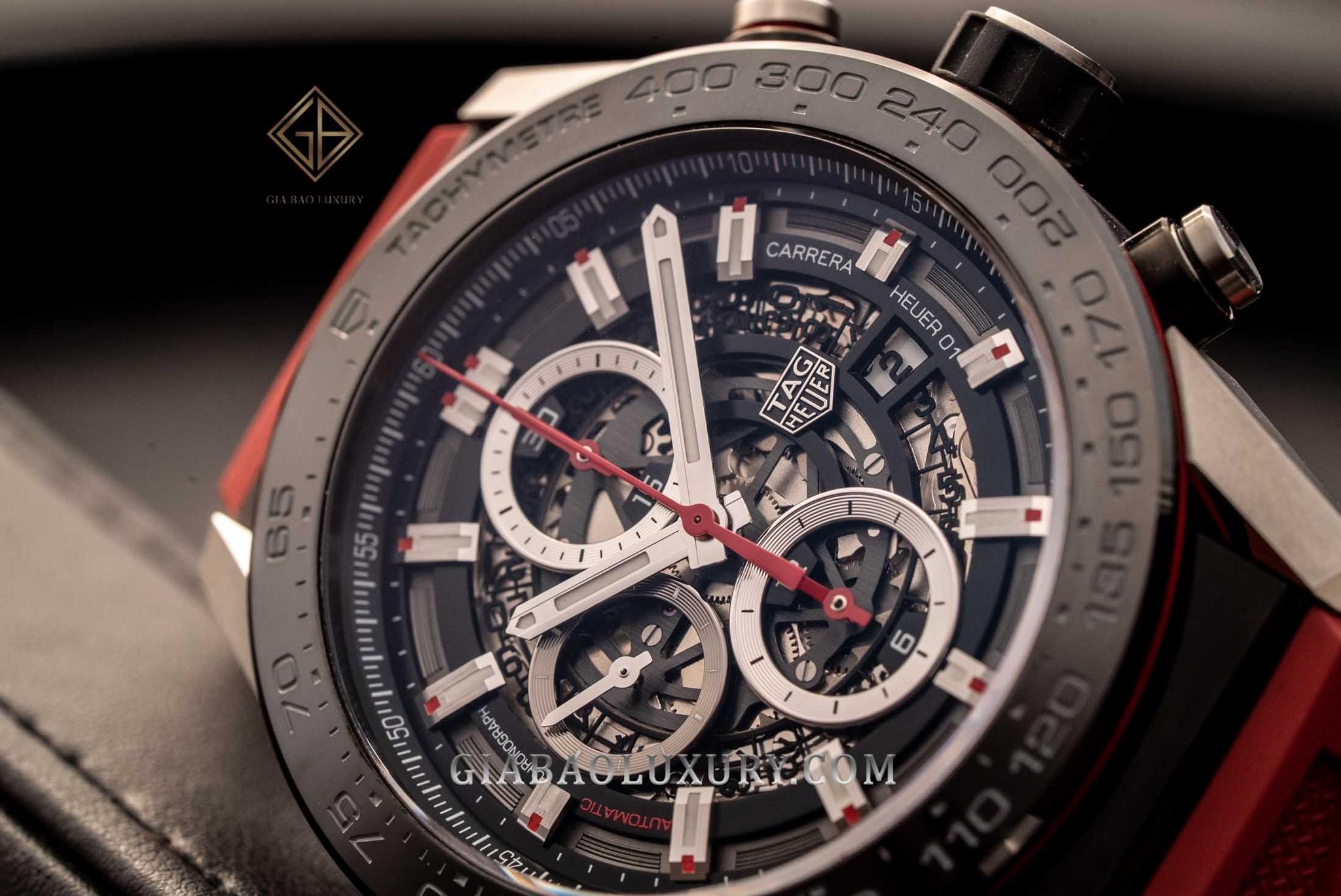 Đồng hồ TAG Heuer Carrera Calibre Heuer 01