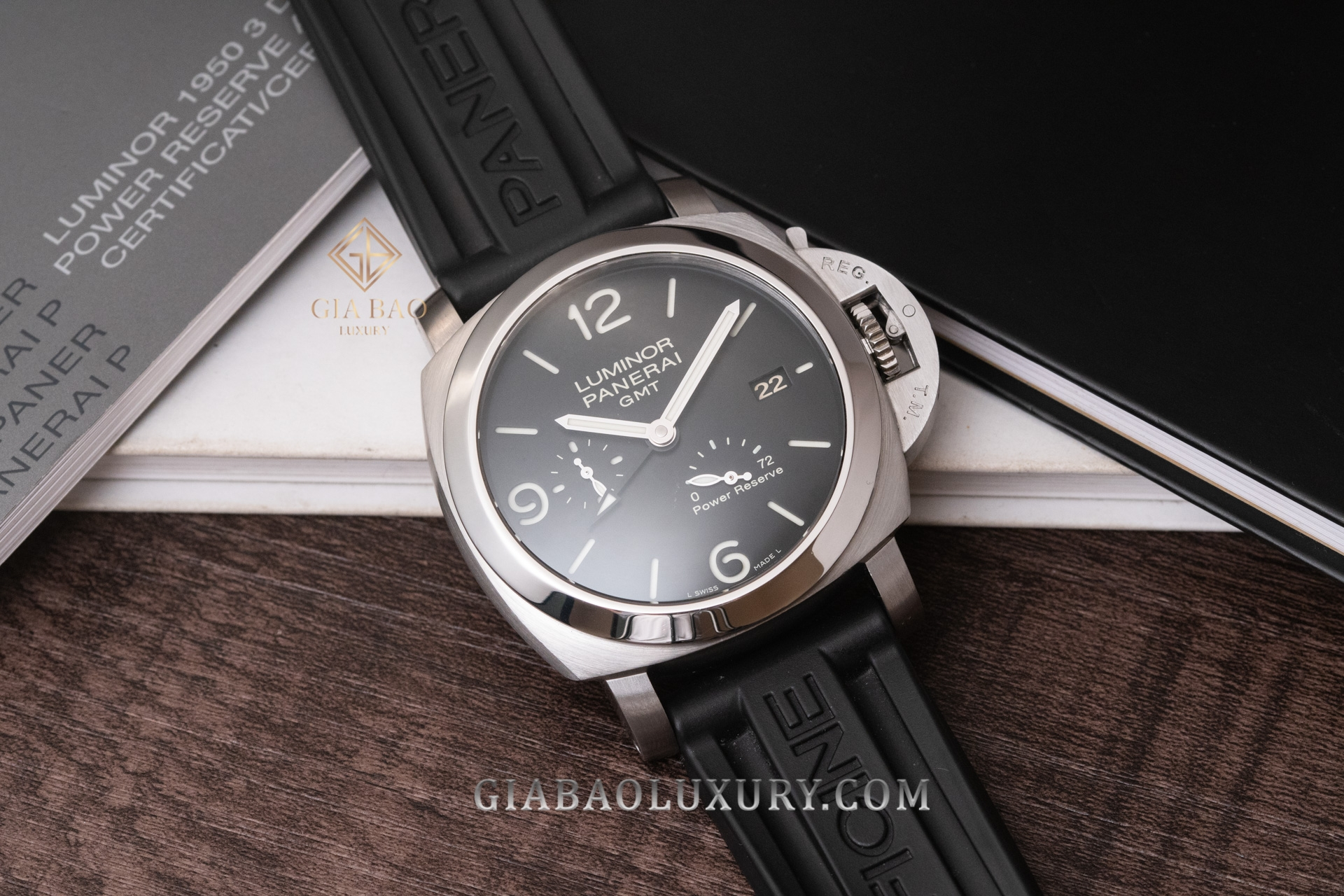 Panerai Luminor 1950 3Days GMT Power Reserve PAM00321