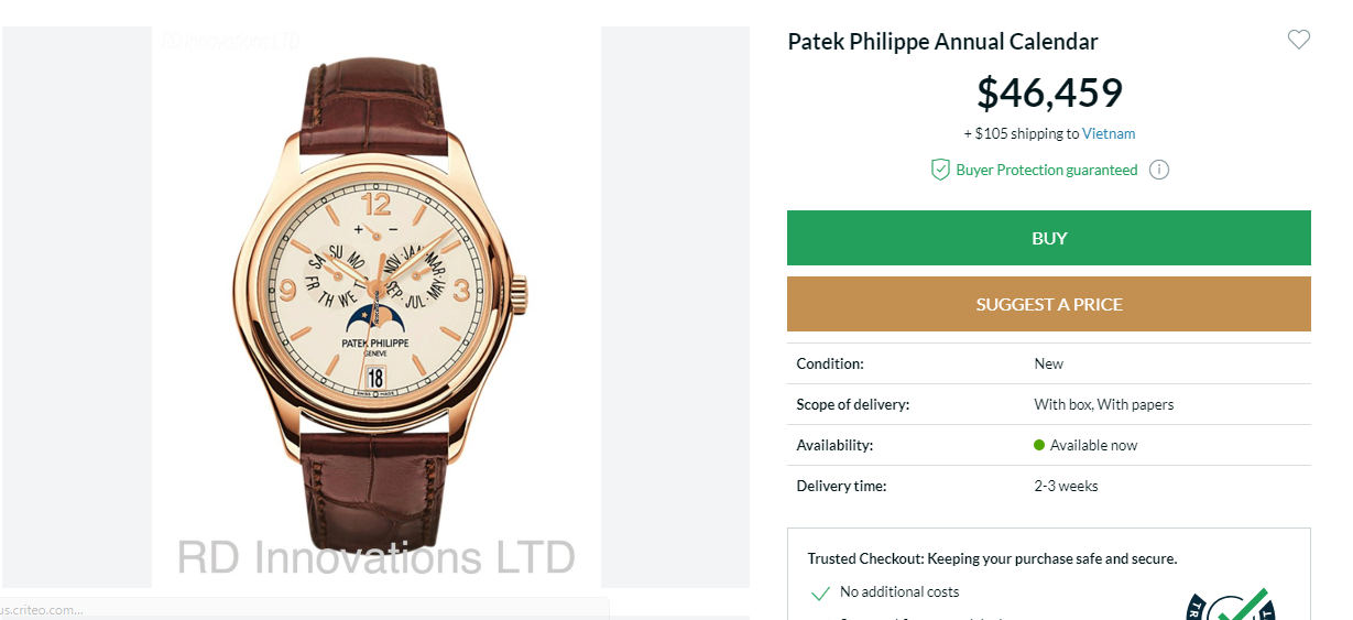 Đồng hồ Patek Philippe Grand Complications 5146J-001
