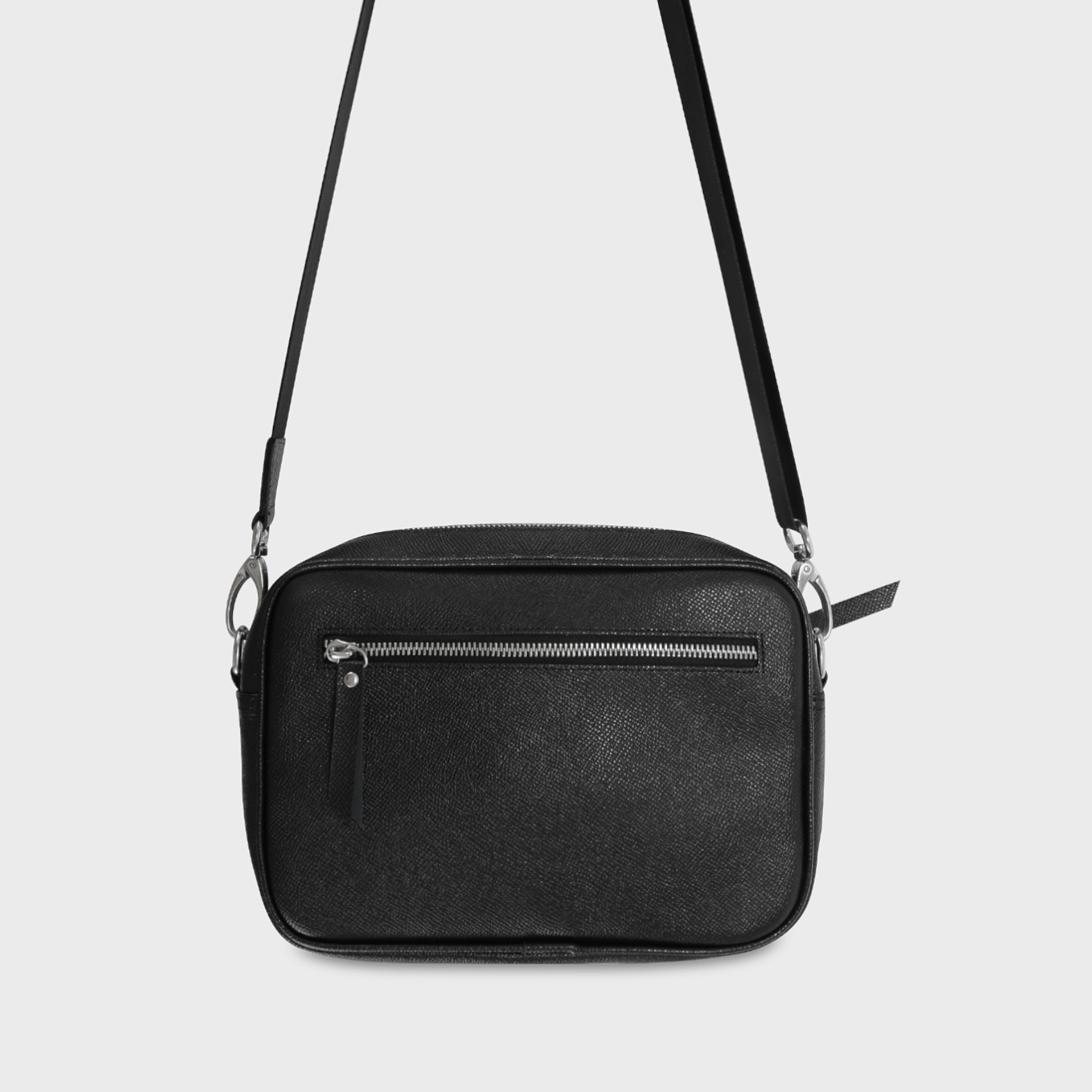 MESSENGER BAG SIZE S - ĐEN
