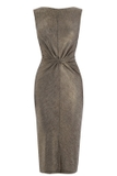 Metallic Knot Dress WAREHOUSE