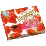 Kẹo Chocolate Strawberry-Meiji (120g)'