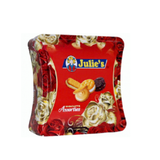 Bánh quy Julie Assorted Biscuits-Malaysia, hộp thiếc (204g)'