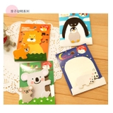 Note Fusen couple animal_N137