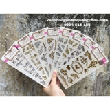 STICKER FOIL EMBOSSED_S185