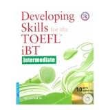 Developing Skills For The TOEFL IBT (sách +10CD)