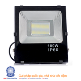 Đèn pha LED 100W chip SMD3528 - NationLED