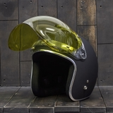 Bulldog Bubble Shield Yellow (Flip-up)