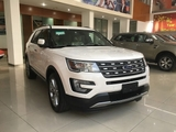 xe Ford Explorer 2.3L Ecoboost AT Limited 2017 mau trang