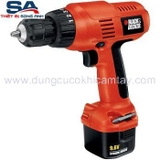 Máy khoan Pin 10mm Black & Decker CD9600