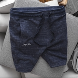 Quần short bermuda jogger Dusty Tailor navy sash