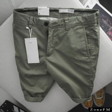 Short Khakis Z.ra Bean Color Chino