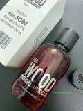 Dsquared2 Wood Red EDT 100ml TESTER - MADE IN ITALY.
