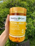 Sữa Ong Chúa Healthy Care Royal Jelly 1000mg - MADE IN AUSTRALIA.