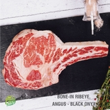 BONE-IN RIBEYE<br>BLACK ONYX, ANGUS