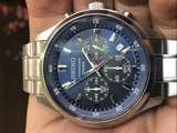 Seiko Chronograph 4T53-00BO Quarts 43mm