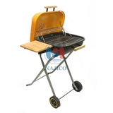 Grill with wheel - 1