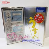Bao cao su Jex New Pure Long 1000