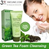 3W Green Tea Cleansing Foam 100ml