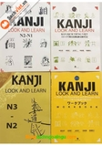 Kanji Look And Learn trọn bộ 4 cuốn