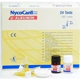 Test thử NycoCard® U-Albumin (24 test/hộp)