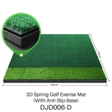 DJD006 - Thảm Tập Swing Golf - PGM Double Grass