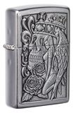 Zippo Skull and Angel Emblem Design 49442
