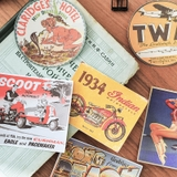Set sticker Travelers' Memoir vintage edition