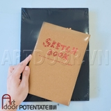 Sổ vẽ Sketchbook POTENTATE 100gsm (Smooth, 120 tờ)