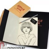 Sổ vẽ Sketchbook POTENTATE 100gsm (120 tờ, Smooth)