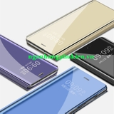 Bao da Clear View Standing Cover cho Oppo A3s cao cấp