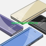 Bao da Clear View Standing Cover cho Oppo A7 cao cấp