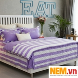 BỘ DRAP EDENA COTTON SATIN 622