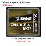 Thẻ nhớ Kingston CF Ultimate 16GB 600x 90MB/s