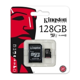Thẻ nhớ Kingston Micro SDXC 128GB class 10, UHS-I, 45MB/s