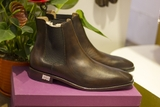 Chelsea Boots Patina Brown D-G 0020 - Chelsea Boots Decus