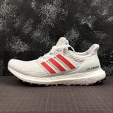 Giay ultraboost 4 white red