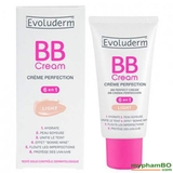 Kem BB evoluderm cream 6 in 1 50ml pháp