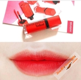 Son lì Velvet 20 Bourjois Rouge Edition Poppy days Đỏ cam