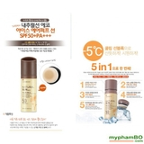 Xịt chống nắng The Face Shop Natural Sun Eco Ice Air Puff Sun SPF50