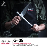 Dụng cụ liếc dao Global G38 Diamond Sharpening Steel (260mm)