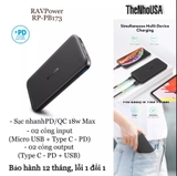 PIN RAVPOWER 10.000MAH 18PD PIONEER