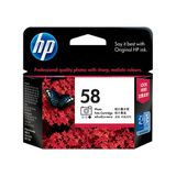 HP 58 Photo Original Ink Cartridge (C6658AA)
