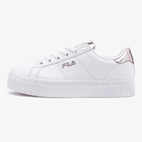 Fila Back Court Deluxe Bold Shiny White And Pink