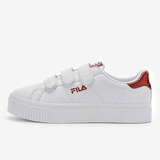 Fila Back Court Deluxe Bold Shiny White And Red