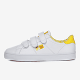 FILA BACK COURT DELUXE WHITE AND YELLOW