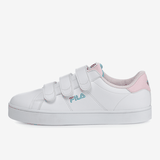 FILA Court Deluxe Vc Purin WHITE-PINK